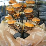 Golden Snitch Cupcakes