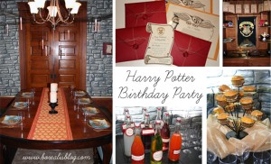 How to plan a Harry Potter party