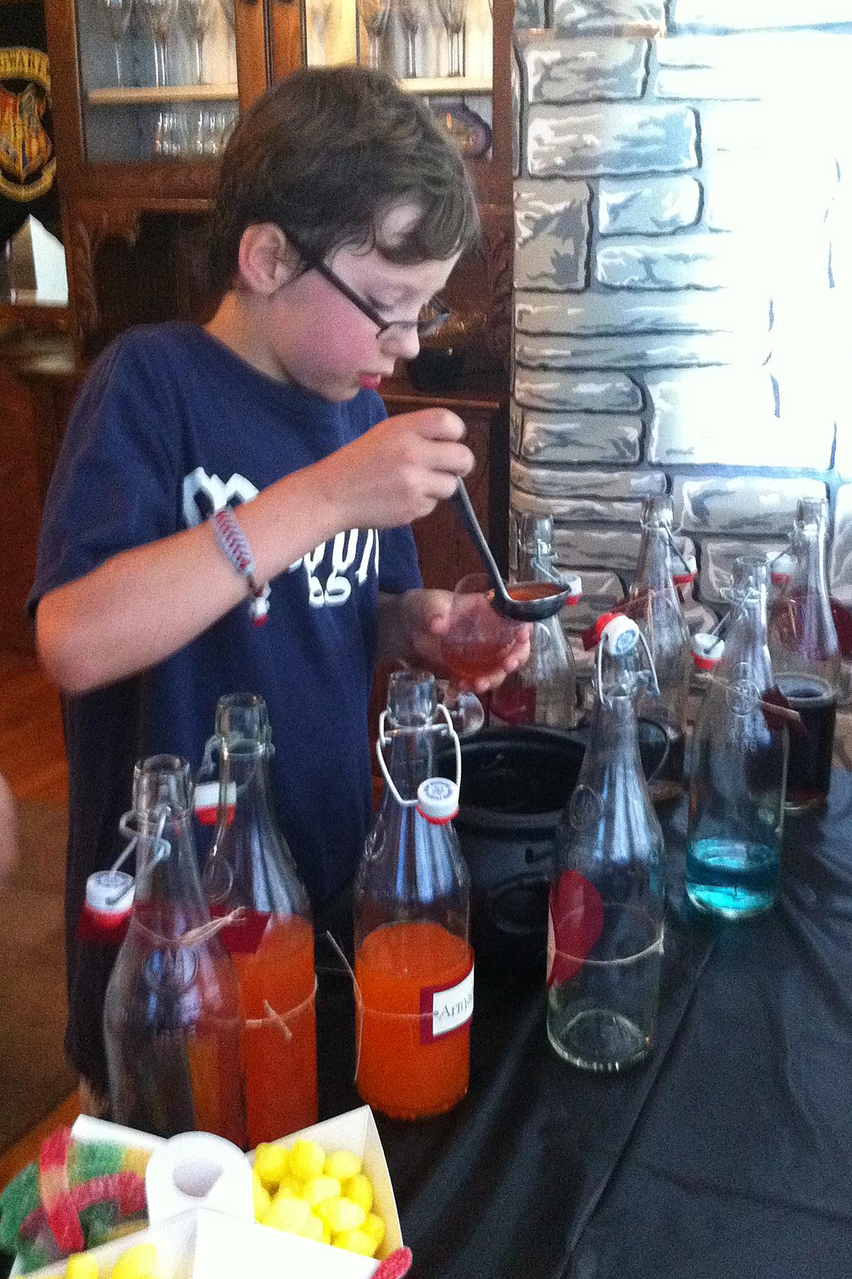 mixing potions borealis