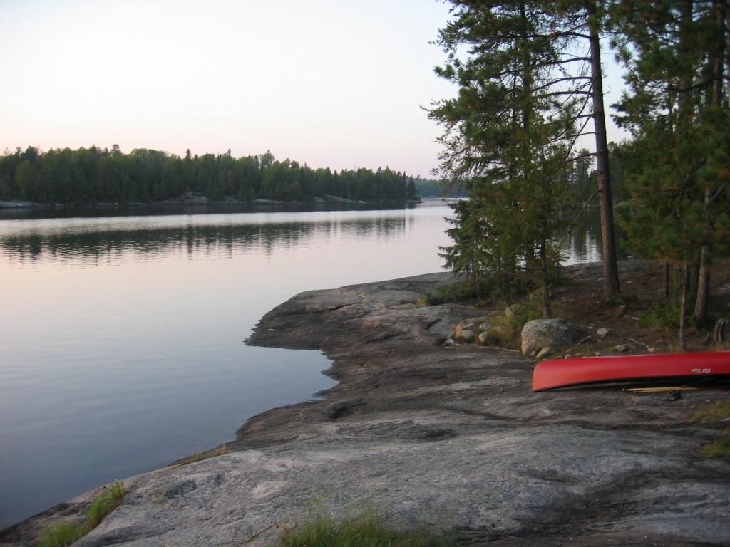 Canoeing in the BWCA