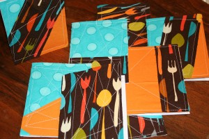 Cutlery Print Cards