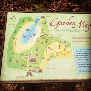 Eloise Butler Wildflower Garden map