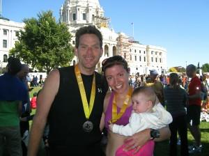Running a marathon seven months postpartum