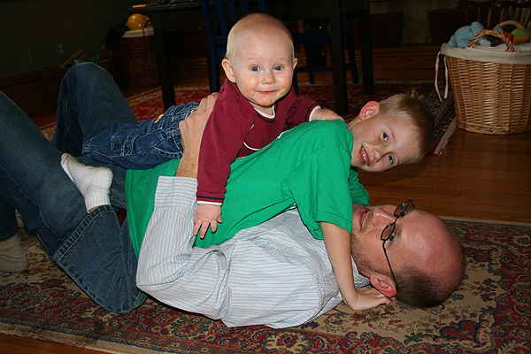 Pileup on daddy
