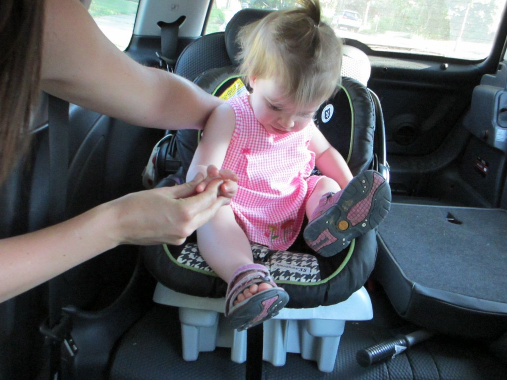 carseats and Mini Coopers