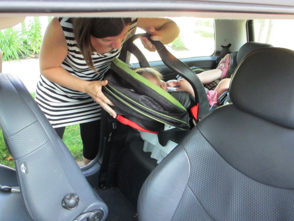 how to get slime out of car seat