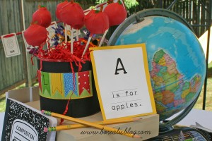 P is for Party: A back-to-school party for the kindergarten set