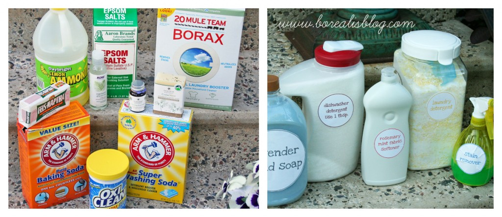 Homemade Cleaning Products, Volume 1 - Borealis