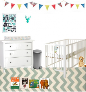 Preparing for baby #2: nursery ideas