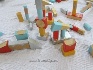 How to make modern wooden blocks