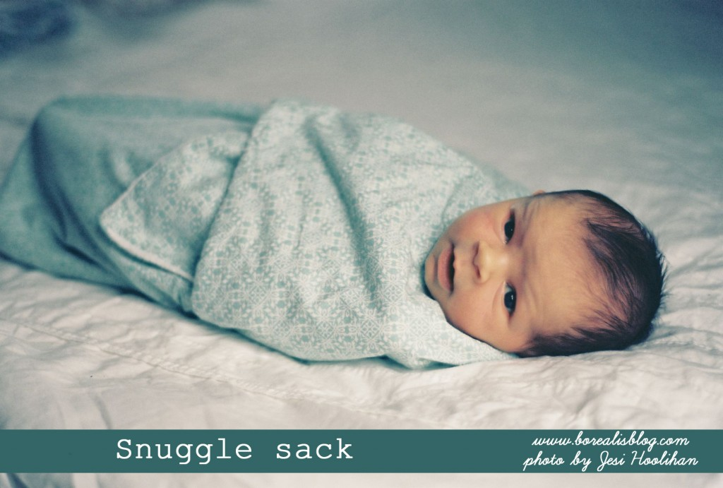 How to sew a snuggle sack copy