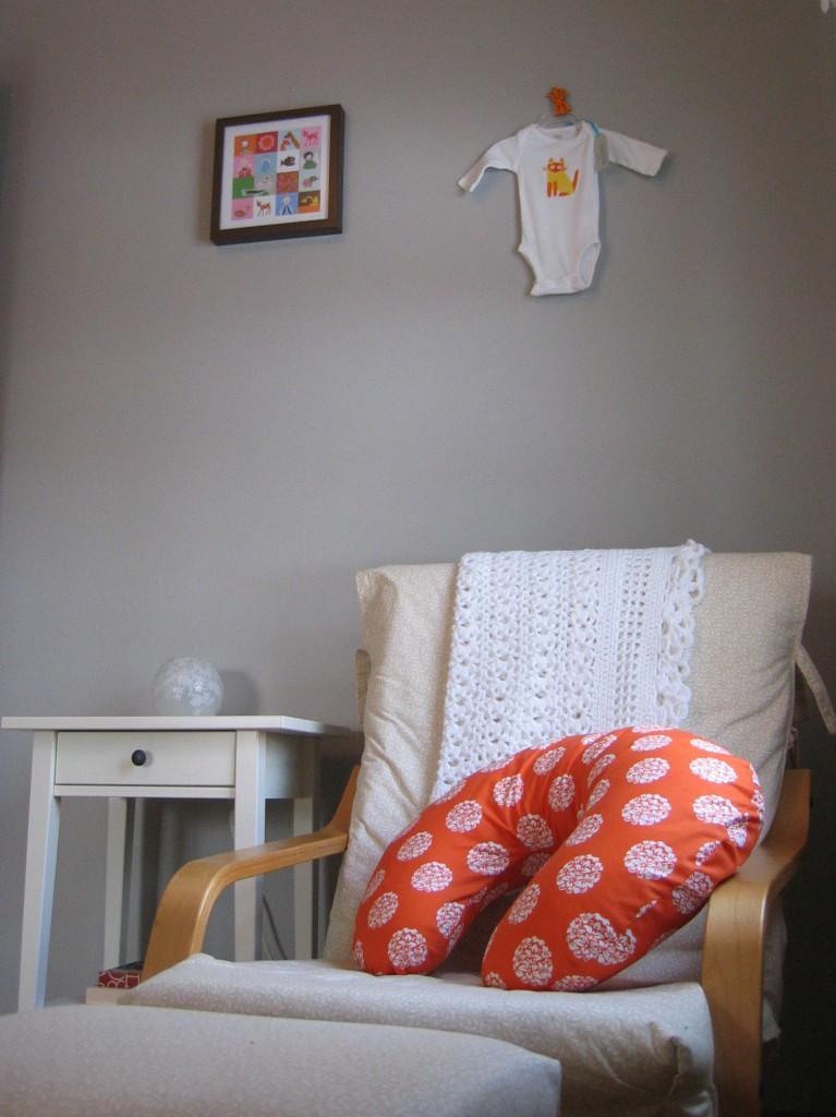 Poang Chair In Nursery