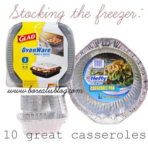 Stocking the freezer: 10 great make-ahead casserole recipes