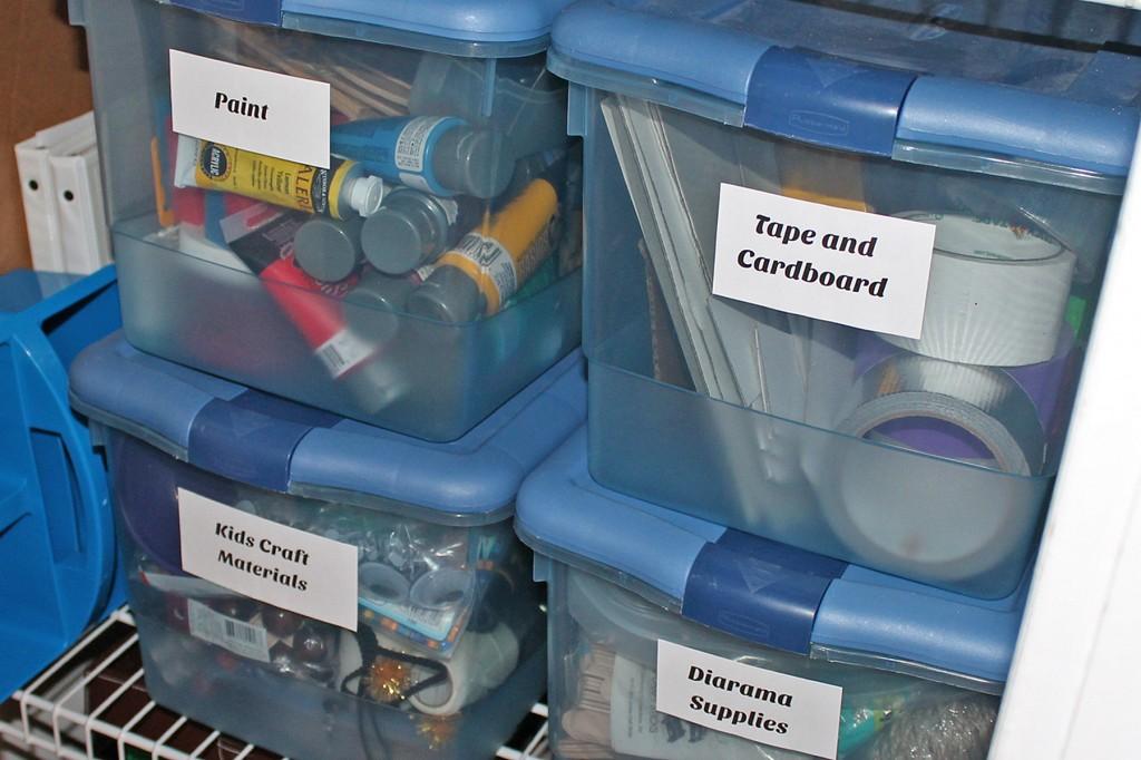 kids stuff bins