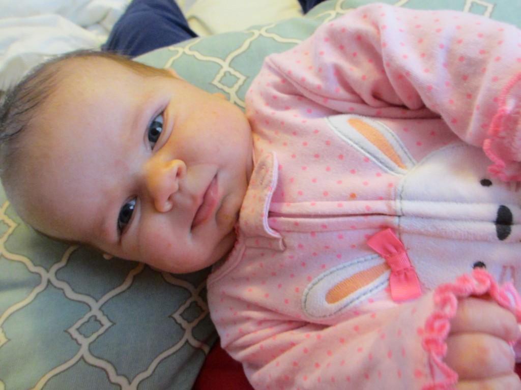 Blythe at 8 weeks