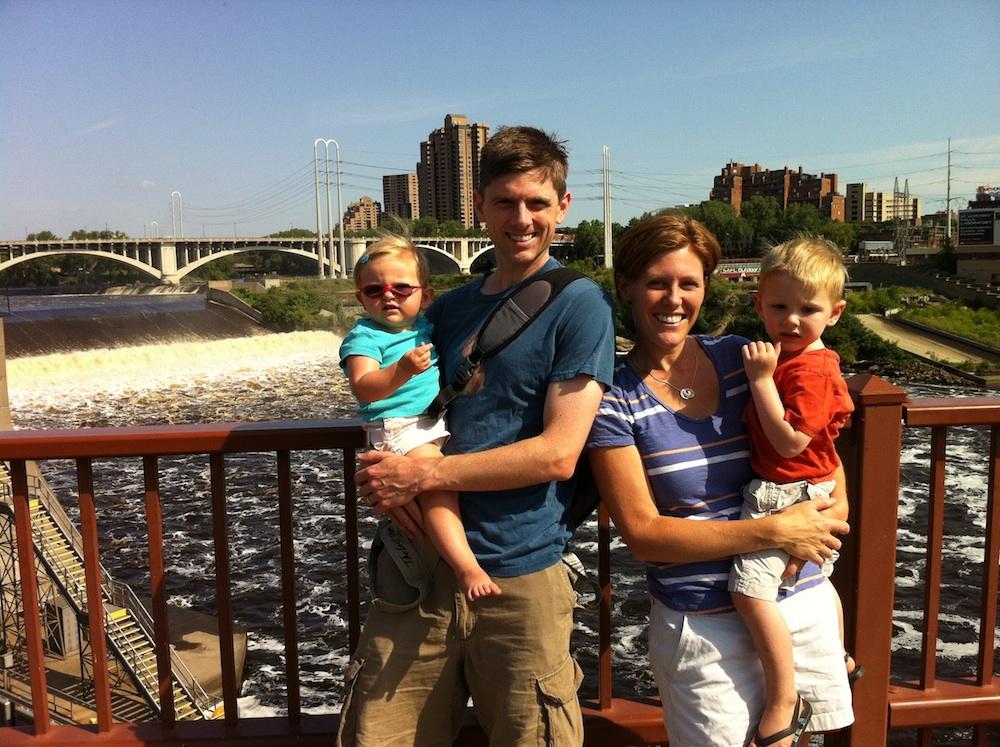 Tour de Fat along the Mississippi River