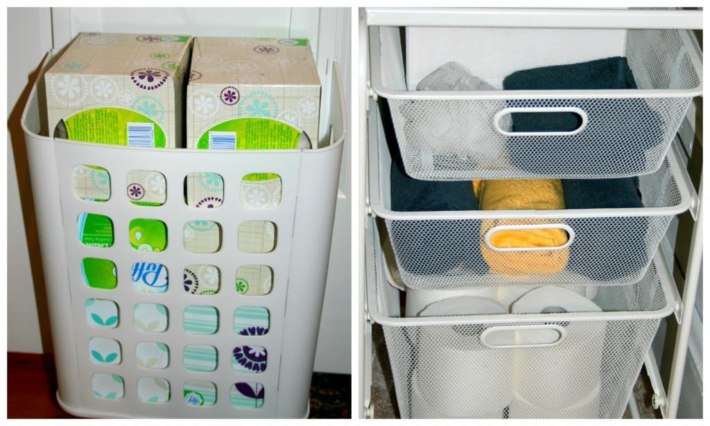 door bin and drawers