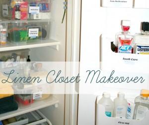 Taming the linen closet beast