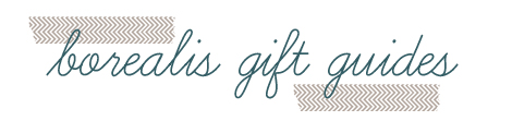 gift guide header teal
