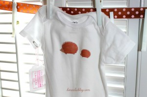 How to make baby onesies with iron-on transfers