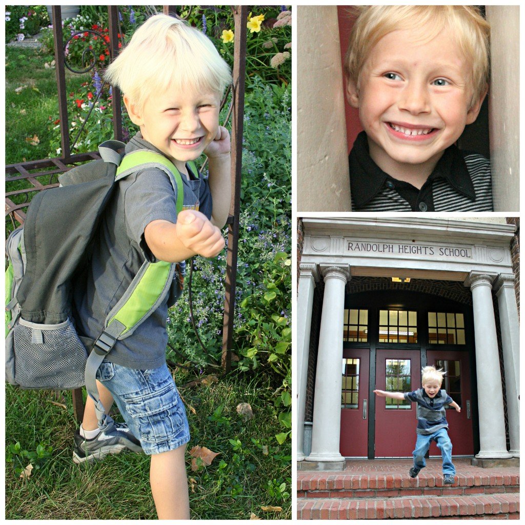 Noah first and last day of kindergarten