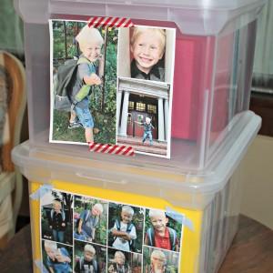 How I organized my kids' school work