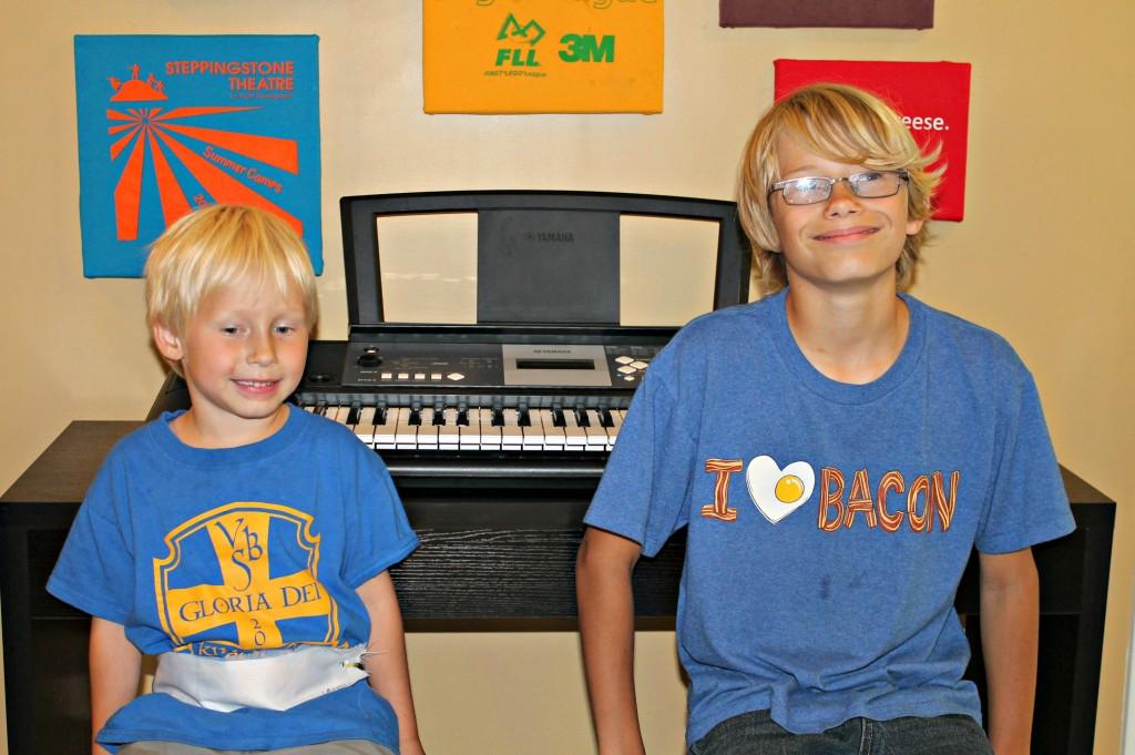 boys at the keyboard