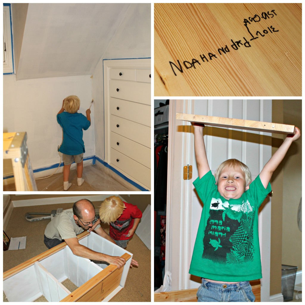 noah helps collage