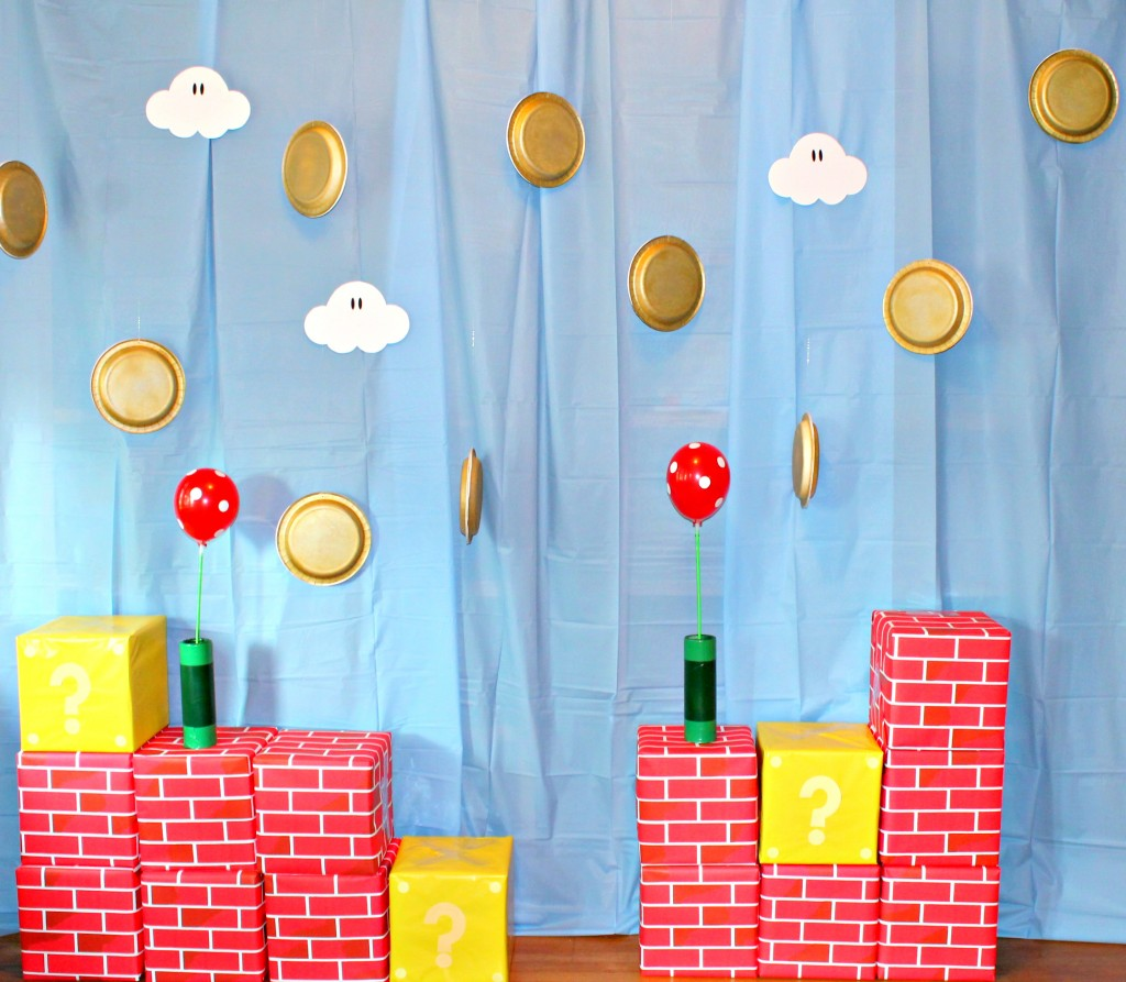 Super Mario Brothers Backdrop 2