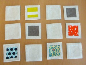 How to make a very satisfying fabric matching game