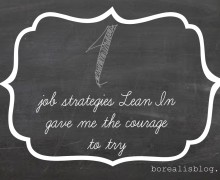 4 job strategies lean in