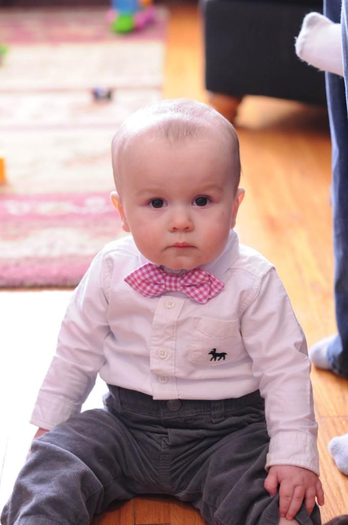 baby in bowtie