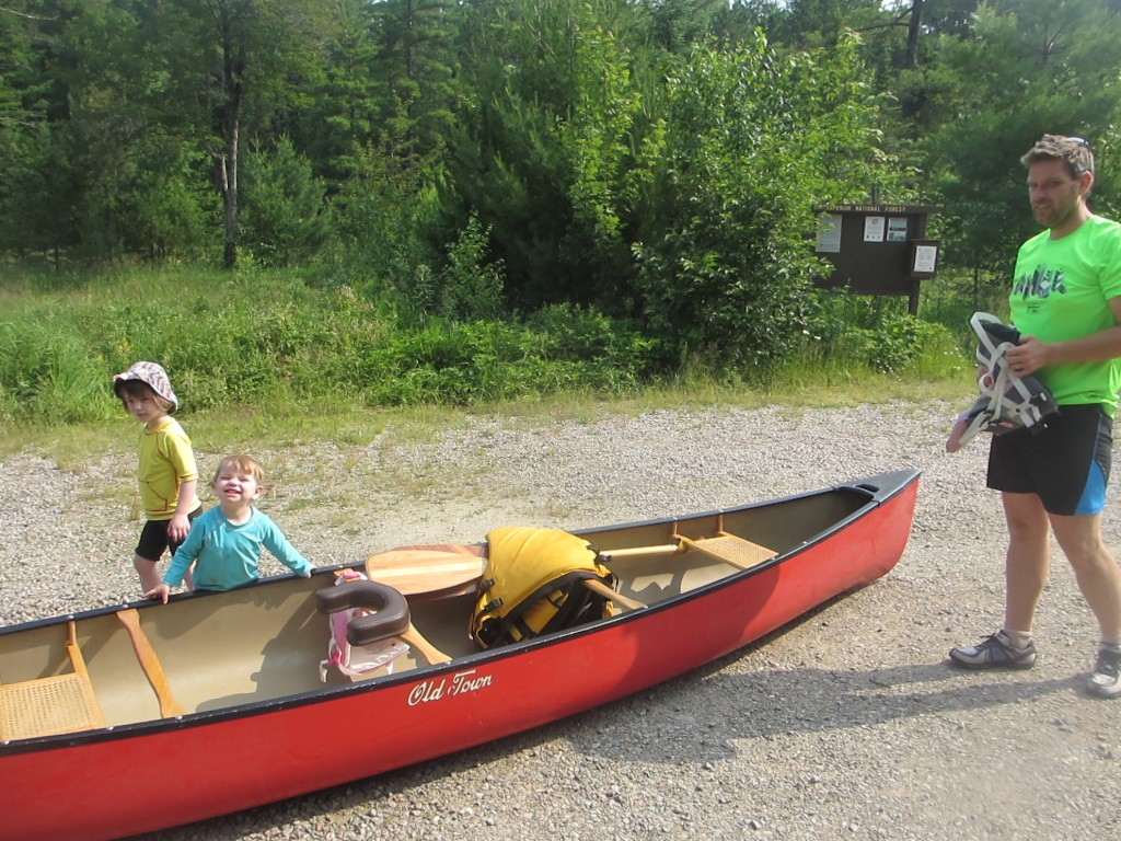 taking young kids on a BWCA canoe trip