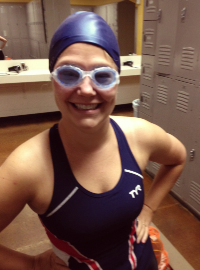 triathlon swim cap