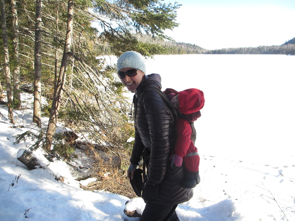 Hiking with a toddler at Tettegouche State Park
