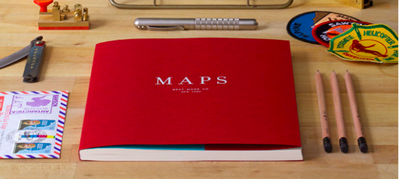 Best Made Company Maps Book